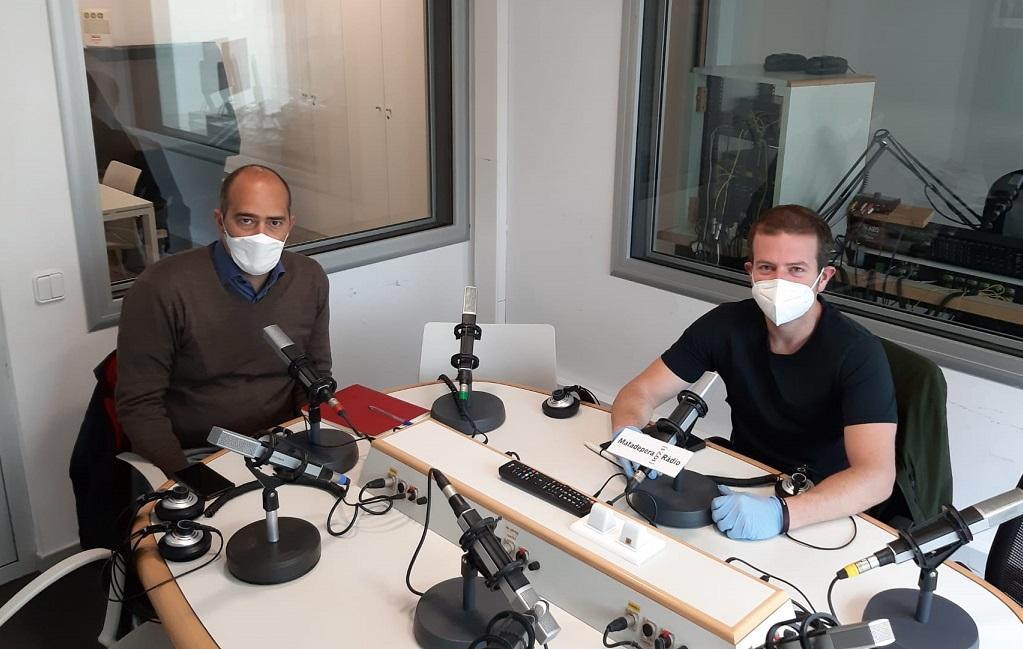 A la imatge, Xavi Mampel i Nil López.